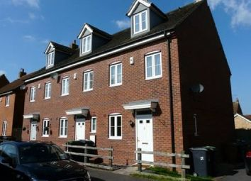 Thumbnail 3 bed end terrace house to rent in Tall Pines Road, Witham St. Hughs, Lincoln