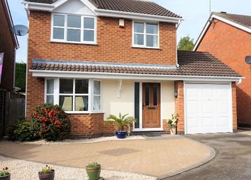 Thumbnail 3 bed detached house for sale in Birdie Close, Kibworth