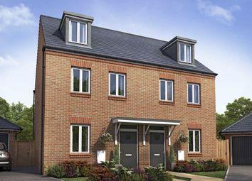 "Thumbnail 3 bedroom semi-detached house for sale in ""Kirkwood"" at Samborne Drive, Wokingham"