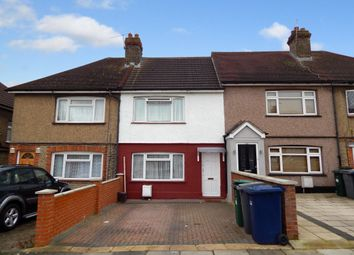 Thumbnail 2 bedroom terraced house to rent in Hyde Crescent, Colindale, London