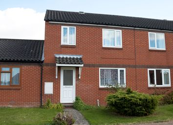 Thumbnail 3 bed terraced house to rent in Woodward Avenue, Bacton, Stowmarket