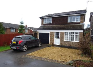 Thumbnail 3 bed detached house for sale in Rumsey Close, Thringstone, Leicestershire