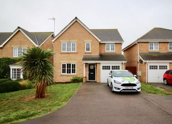 Thumbnail 4 bed detached house for sale in Powys Close, Corby