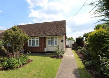 Thumbnail 2 bed semi-detached bungalow for sale in Malyons Lane, Hullbridge, Hockley