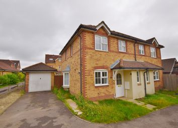 Thumbnail 3 bed semi-detached house to rent in Grice Close, Hawkinge
