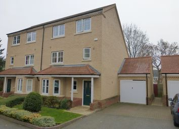 Thumbnail 5 bedroom semi-detached house for sale in Walnut Mews, Peterborough