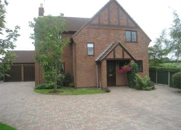 Thumbnail 4 bed detached house for sale in Thorneycroft Close, Broughton Astley, Leicester