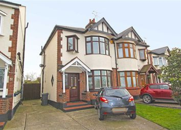 Thumbnail 3 bedroom semi-detached house for sale in Eastern Avenue, Southend On Sea, Essex