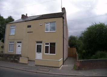 Thumbnail 2 bed semi-detached house to rent in Water Lane, South Normanton, Alfreton, Derbyshire