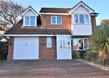 Thumbnail 4 bed detached house for sale in Parker Close, Laceby