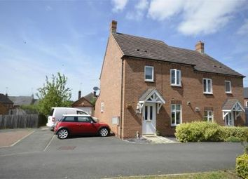 Thumbnail 3 bed semi-detached house for sale in Glovers Lane, Raunds, Northamptonshire