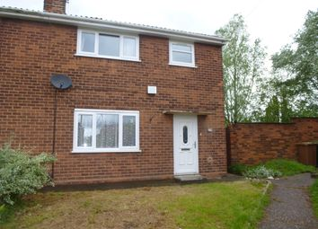 Thumbnail 3 bed property to rent in Poplar Avenue, Bentley, Walsall