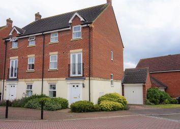Thumbnail 4 bedroom semi-detached house for sale in Montague Drive, Greenham, Thatcham