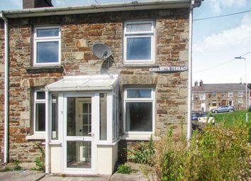 Thumbnail 3 bed cottage to rent in Cae Bryn Terrace, Brynmenyn, Bridgend