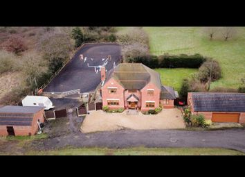 4 bed detached house for sale in Corley Moor, Rural, 1 Acre, Drone Video, 4 Car Garage, Stables & Menage CV7