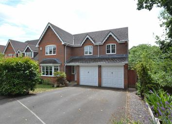 Thumbnail 5 bed detached house for sale in Foxglove Way, Dunston Park, Thatcham, Berkshire