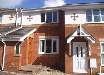 Thumbnail 2 bed terraced house to rent in Excalibur Close, Exeter