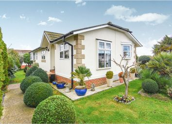 Thumbnail 2 bed mobile/park home for sale in Creek Road, Kings Park, Canvey Island