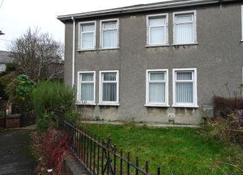 Thumbnail 3 bed semi-detached house to rent in Gwalia Road, Pencoed, Bridgend
