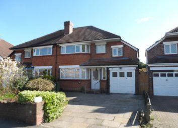 Thumbnail 4 bedroom semi-detached house to rent in Queens Avenue, Shirley, Solihull