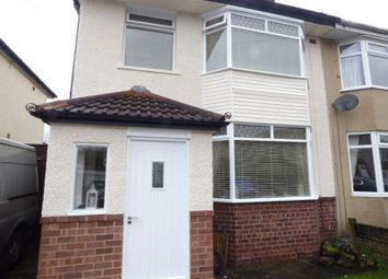 Thumbnail 3 bed semi-detached house to rent in Granville Avenue, Maghull, Liverpool