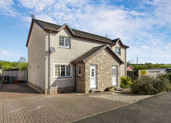 Thumbnail 2 bed semi-detached house for sale in Purclewan Crescent, Dalrymple, Ayr