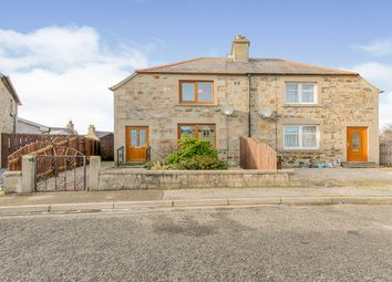 Thumbnail 2 bed semi-detached house for sale in Victoria Crescent, Cullen, Buckie, Moray