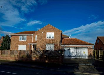 Thumbnail 4 bed detached house for sale in Hillam Road, Gateforth, Selby, North Yorkshire