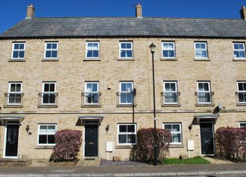 Thumbnail 4 bed terraced house for sale in Avocet Close, Rugby, Warwickshire