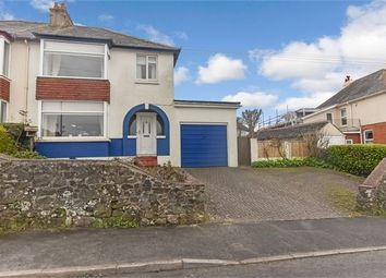 Thumbnail 3 bed semi-detached house for sale in Seymour Road, Knowles Hill, Newton Abbot, Devon.