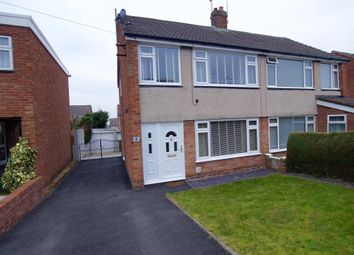 Thumbnail 3 bed semi-detached house for sale in Oak Close, Summerhill, Wrexham