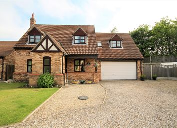 Thumbnail 4 bed detached house for sale in King Rudding Close, Riccall, York