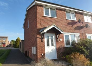 Thumbnail 2 bed end terrace house to rent in Sandover, Northampton