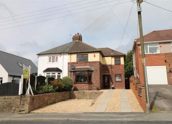 Thumbnail 3 bed semi-detached house for sale in High Lane, Brown Edge, Stoke-On-Trent