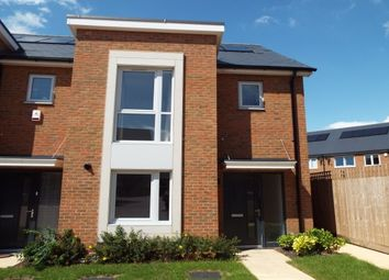 Thumbnail 3 bed town house to rent in Ashmead Court, St Clements Lakes, Greenhithe