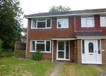 Thumbnail 3 bed terraced house to rent in Elgar Close, Basingstoke