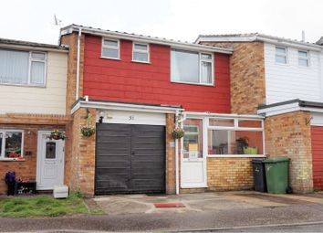 Thumbnail 2 bed terraced house for sale in Glebe Close, Thetford