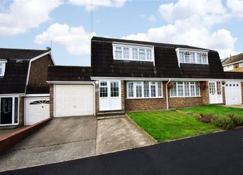 Thumbnail 3 bed semi-detached house for sale in Archer Way, Swanley, Kent