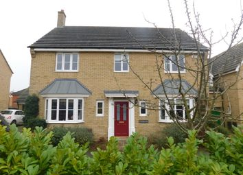 Thumbnail 4 bedroom detached house for sale in Fieldfare Close, Stowmarket