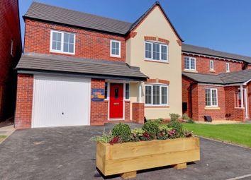 Thumbnail 4 bed detached house for sale in Violet Walk, Fradley, Lichfield