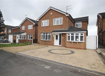 Thumbnail 4 bed detached house for sale in Vicars Hall Gardens, Worsley, Manchester