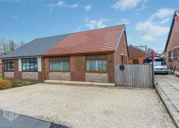 Thumbnail 2 bedroom semi-detached bungalow for sale in Strangford Street, Radcliffe, Manchester, Lancashire