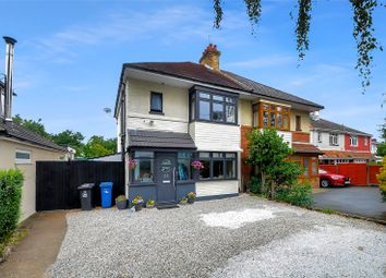 3 bed semi-detached house for sale in Ringwood Road, Oakdale, Poole, Dorset BH14