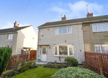 Thumbnail 2 bedroom semi-detached house for sale in Cromwell Road, Airedale, Castleford