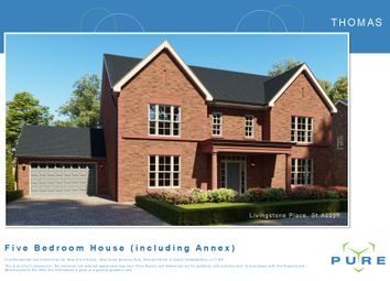 Thumbnail 5 bed detached house for sale in Livingstone Place, St. Asaph, Denbighshire
