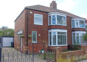 Thumbnail 3 bed semi-detached house for sale in Glaisdale Avenue, Middlesbrough