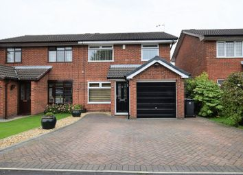 Thumbnail 3 bed semi-detached house for sale in Lane Head Avenue, Lowton, Warrington