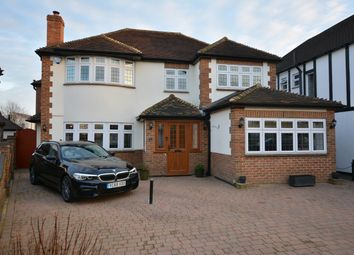 Thumbnail 5 bed detached house for sale in Nelmes Close, Emerson Park, Hornchurch