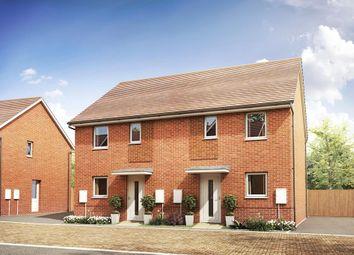 "Thumbnail 3 bed semi-detached house for sale in ""Folkestone"" at Park Prewett Road, Basingstoke"
