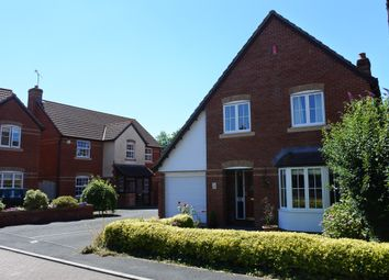 Thumbnail 3 bed detached house for sale in Saxon Close, Oake, Taunton